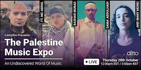 Campfire Presents: Palestinian Music Expo tickets