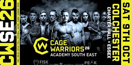 Cage Warriors Academy South East #26 tickets
