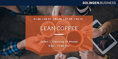 LEAN Coffee Tickets