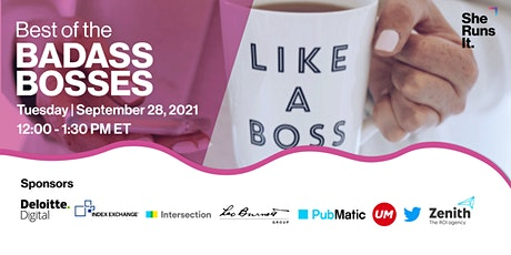 VIRTUAL EVENT: Best of the Badass Bosses with Executive Roundtables tickets