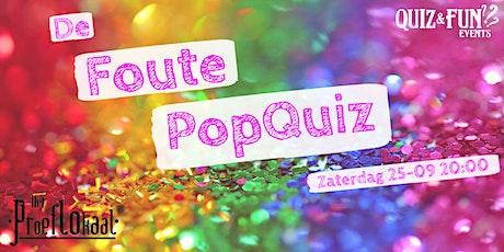 De Foute PopQuiz | Waalwijk tickets