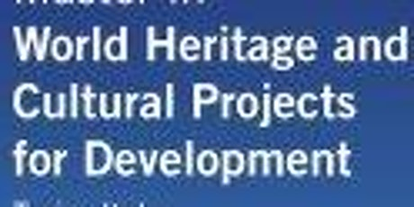 WORLD HERITAGE AND CULTURAL PROJECTS FOR DEVELOPMENT WORKSHOP tickets