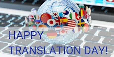 Virtual Happy Hour to celebrate International Translation Day tickets