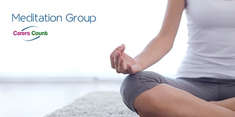 Carers Count Weekly Meditation Sessions 11:30 - 12:15 tickets