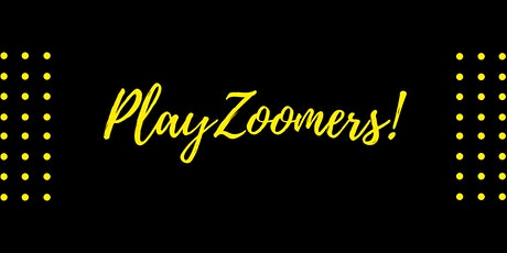 PlayZoomers - Four Plays about Theatre - Live,  Online - Oct. 22, 23 2021 tickets