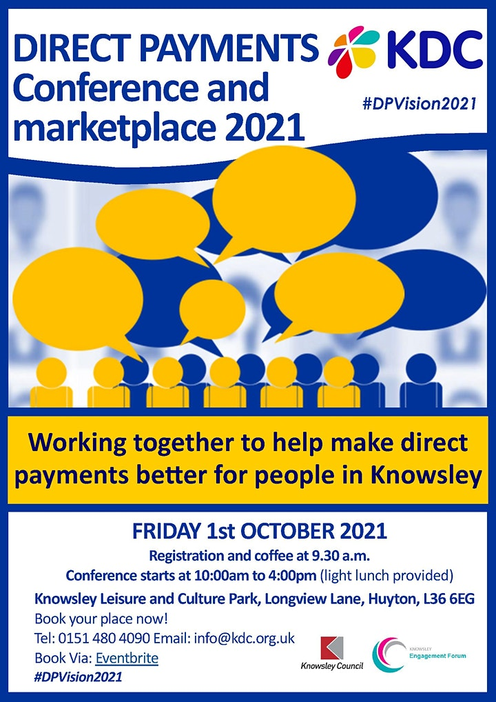 Knowsley Direct Payments Vision Conference 2021 image