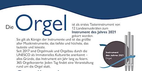 Orgelklang in Potsdams Norden I tickets