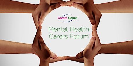 Virtual Kirklees Mental Health Carers Forum tickets