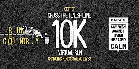 Cross the finish line - Run the Country Ultra Virtual 10km entradas