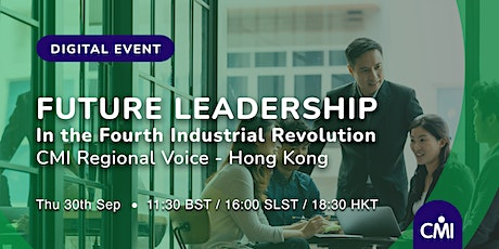 Future Leadership: In the fourth Industrial Revolution tickets