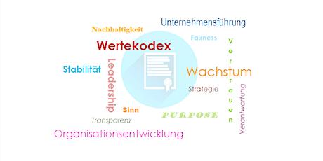 Der Wertekodex: werteorientierte Unternehmensführung Tickets