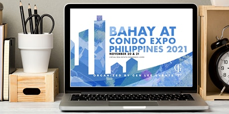 Bahay at Condo Conference and Expo Philippines 2021 tickets