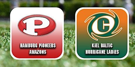 Gameday Hamburg Pioneers Amazons vs Kiel Baltic Hurricanes Ladies Tickets