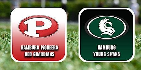 Gameday Hamburg Pioneers  Red Guardians vs Hamburg Young Swans Tickets