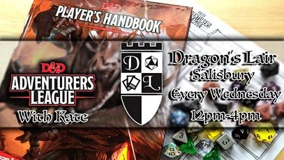 Dragons Lair Adventurers League (Wednesday) tickets