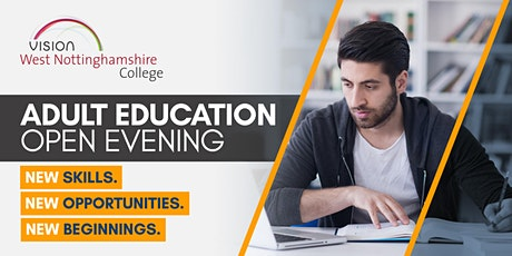 Adult Education Open Evening tickets