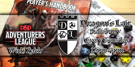 Dragons Lair Adventurers League (Tuesday) tickets