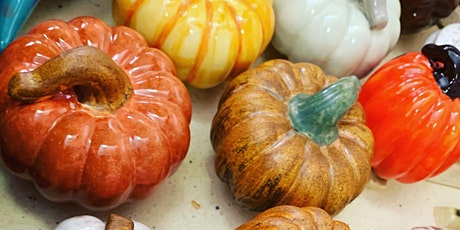 Ceramic Pumpkin Paint Night at Axe and Arrow Brewery tickets