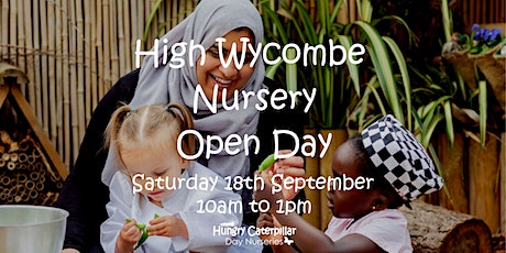 High Wycombe Nursery Open Day tickets
