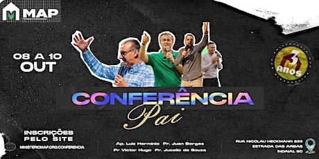 Conferência Pai ingressos