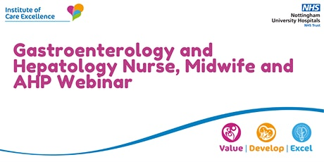Gastroenterology and Hepatology Nurse, Midwife and AHP Webinar tickets