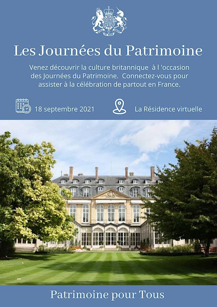 Les Journées du Patrimoine: À la Résidence Virtuelle en ligne image
