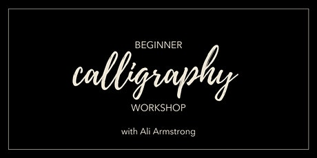 Beginner Calligraphy Workshop | Dalton, Ohio 12pm tickets