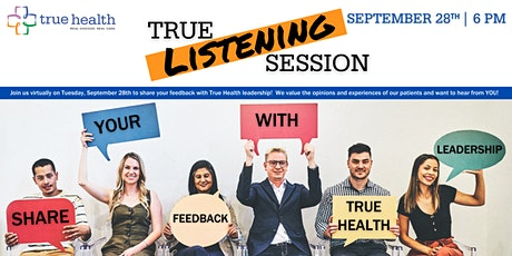 True Listening Session - September 2021 billets