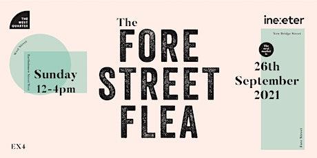 Fore Street Flea 26 September 2021 tickets
