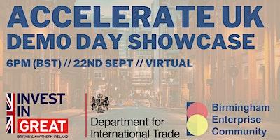 BEC x DIT: Accelerate UK Demo Day Showcase