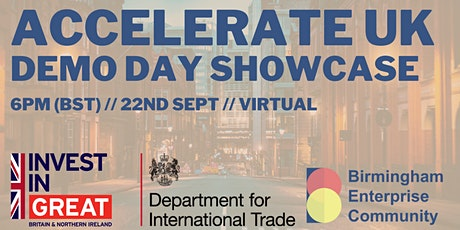 BEC x DIT: Accelerate UK Demo Day Showcase tickets