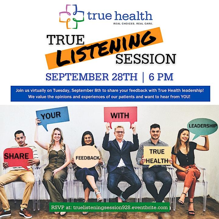 True Listening Session - September 2021 image