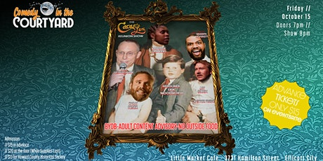 Ellicott Silly Comedy Festival Comedy In The Courtyard 10 w/Erik Woodworth tickets