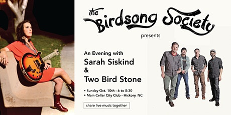 An Evening with Sarah Siskind and Two Bird Stone tickets