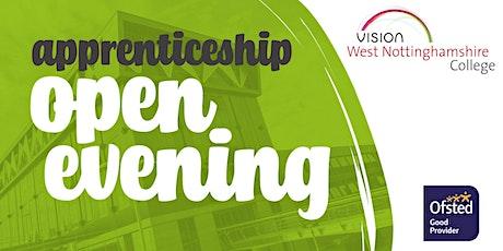 Apprenticeship Open Evening tickets