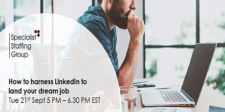How to harness LinkedIn to land your dream job tickets