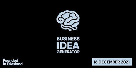 Business Idea Generator tickets