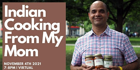 Indian Cooking From My Mom | Cook Virtually with Rupen Rao! tickets