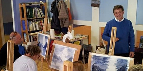 ART CLASSES - 8 week Art course  just £13.75 per week , two hours sessions tickets