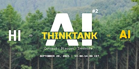 AI Think Tank - AI & Climate Change tickets