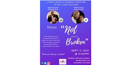 ERCC Marriage Conference: Not Easily Broken tickets