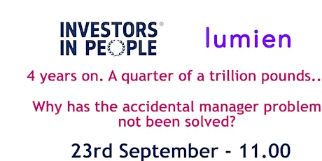 Why has the accidental manager problem not been solved? tickets