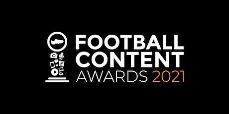Football Content Awards 2021 tickets