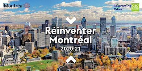 Réinventer Montréal 2020-21 Présentation publique des Projets finalistes billets