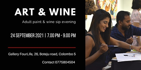 Art and Wine tickets