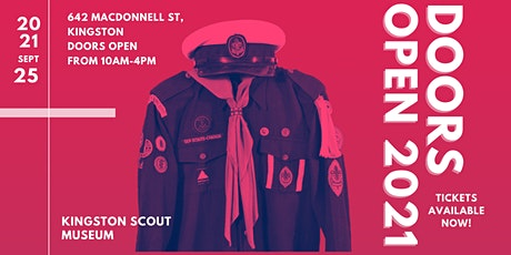 Doors Open Kingston 2021 - Kingston Scout Museum tickets