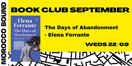 Book Club September: The Days of Abandonment by Elena Ferrante tickets