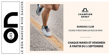 Les ON: Running Club Champion Spirit billets