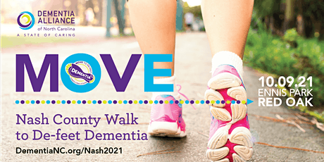 Nash County Walk to De-Feet Dementia tickets