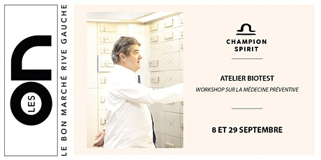 Les ON: Atelier Biotest Champion Spirit billets